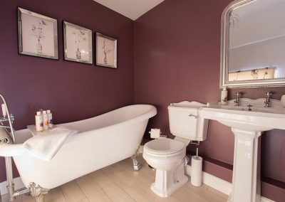 Master suite ensuite with a tub style bath