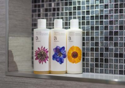 Bramley shower gel, shampoo, conditioner and soap